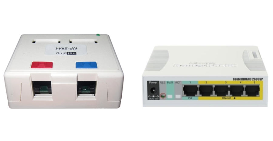 What Is the Difference Between NP-SM4 and MikroTik?