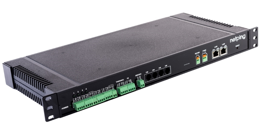 NetPing Issued UniPing server solution v3 - a New Device for Monitoring Server Rooms