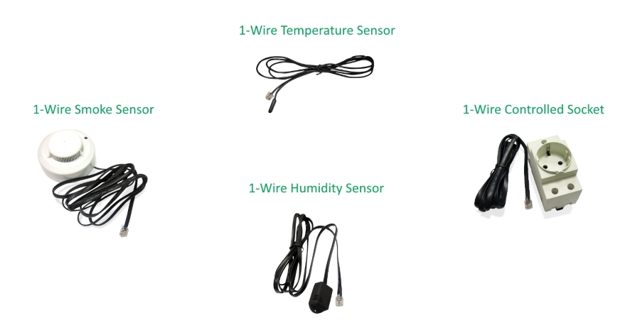 How to Plug 1-wire Sensors to NetPing Devices