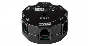 A New NetPing 1-wire hub, R912R2, Has Been Added to the Website