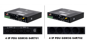 New devices NetPing 4 IP PDU GSM3G 64R701 and 64R702 sale started!