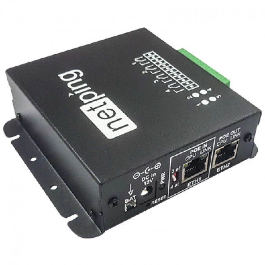 NetPing Input+Relay 254R304