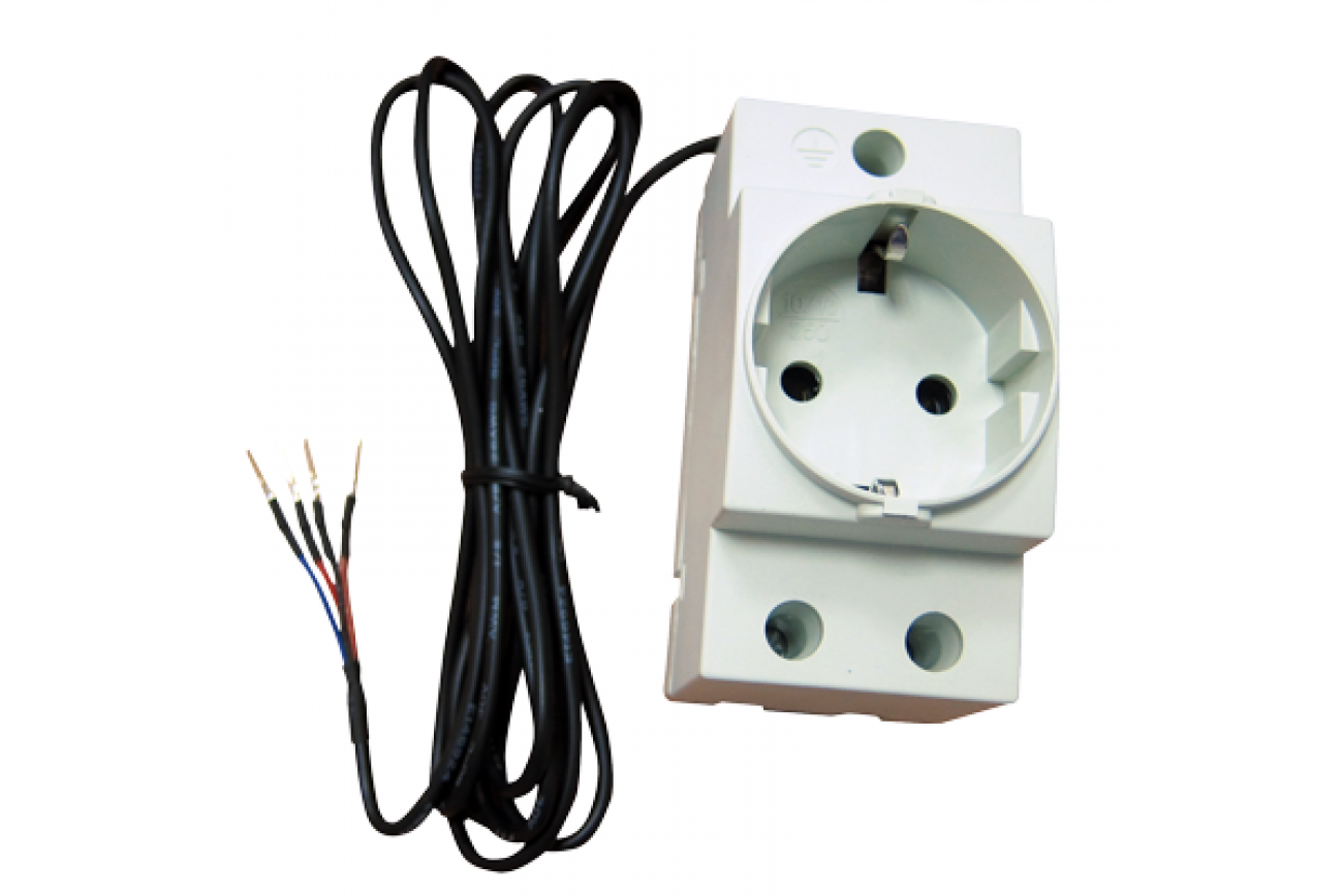Power Distribution Unit Netping Ac Din Controlled Socket Wires When Installing Electrical Receptacles Wall Plug Outlets