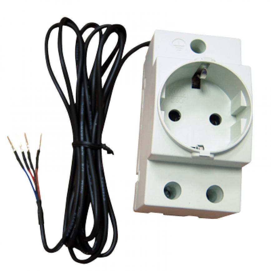 NetPing AC/DIN socket