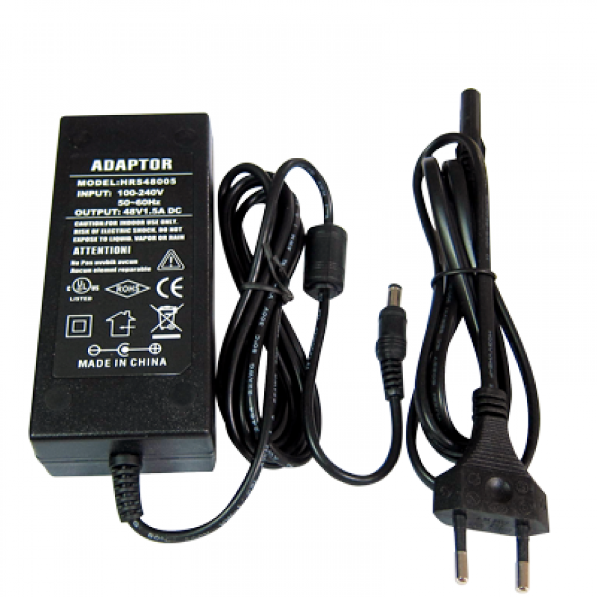 Power adapter 48V 1.5A