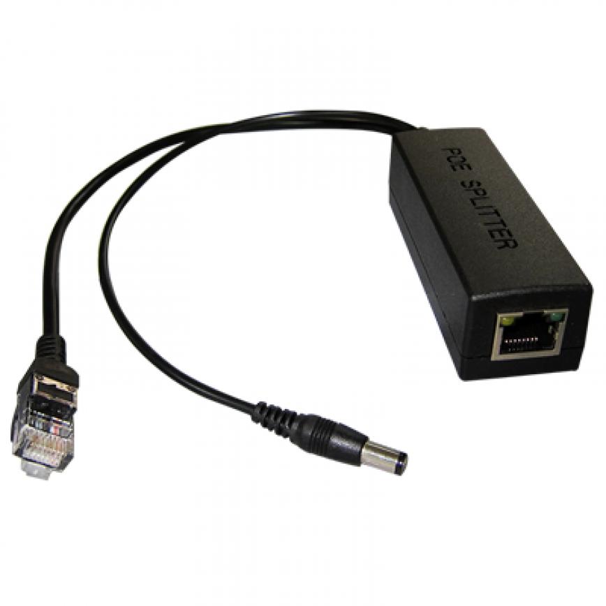 Splitter POE 12V IEEE 802.3af