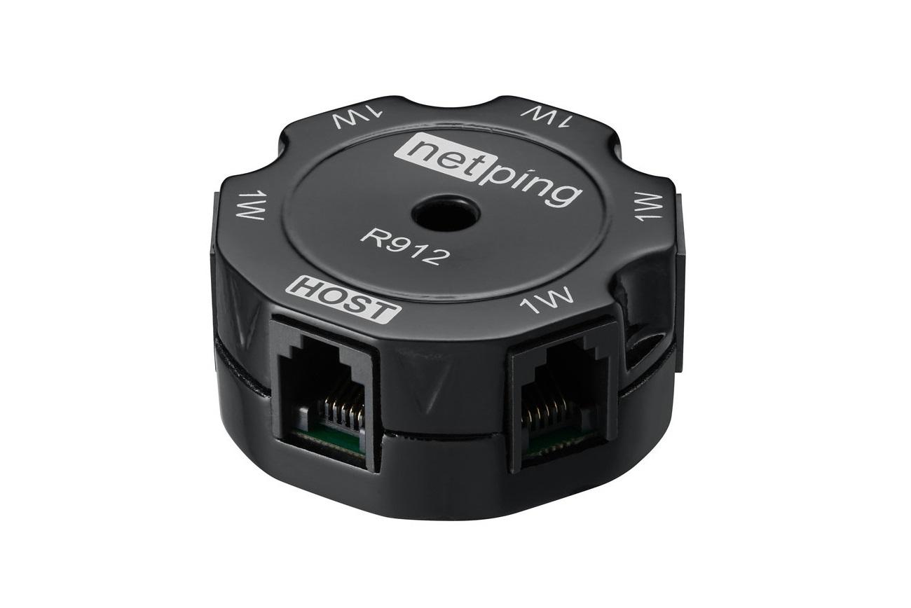 NetPing 1-wire hub, R912R2